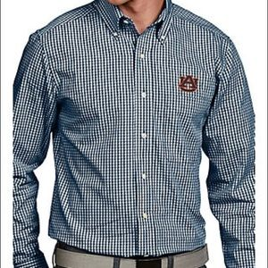 Men's Auburn Game Day Button Up